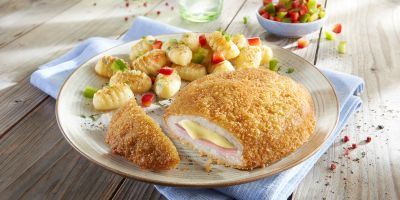 "Farmer Pocket of minced meat ""Cordon Bleu"""