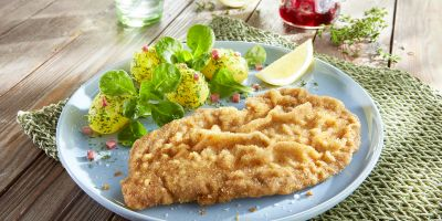Escalope of veal