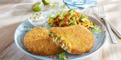 "Breaded vegetable ""Escalope style"""