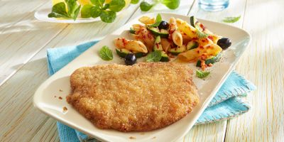 Escalope-of-pork-fried