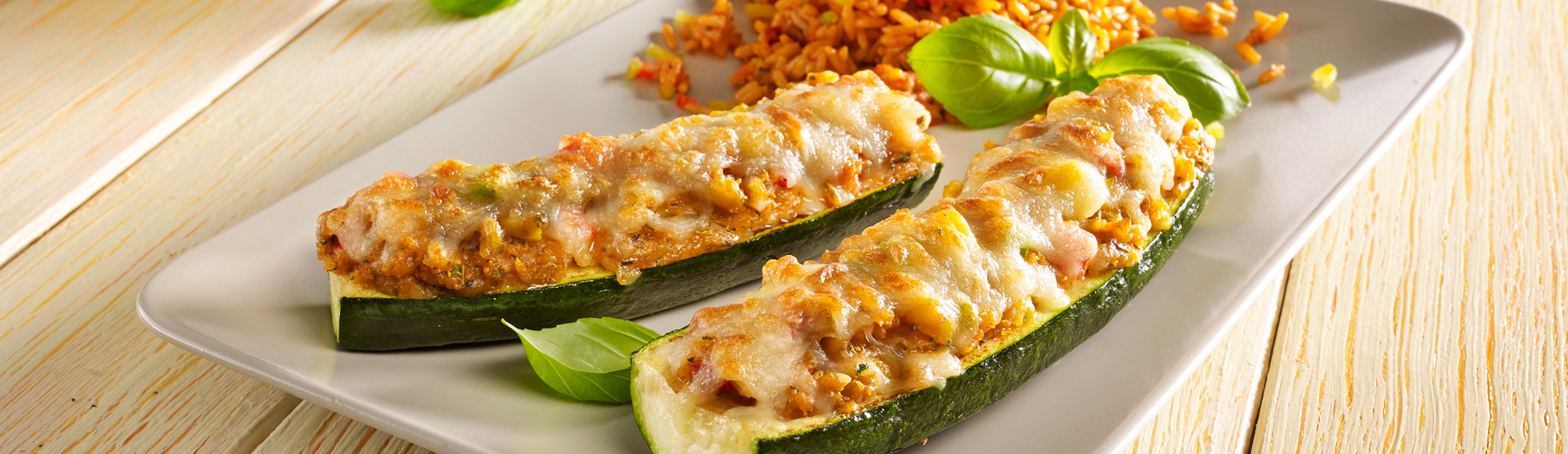 "Courgette ""Vital"" vegetable filling"